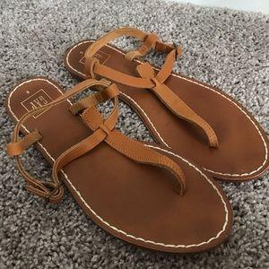 GAP Strap Brown Tan Sandals Sz 8